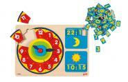 Puzzle Lernuhr