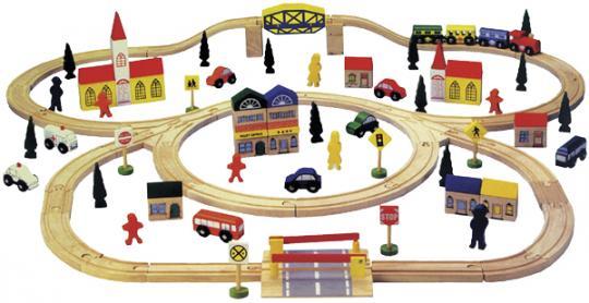 Große Holzeisenbahn