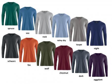 Herren-Shirt-Langarm