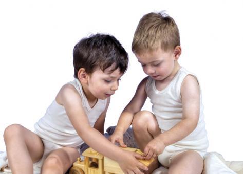 Kinder-Unterhemd ohne Arm